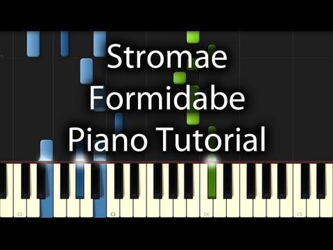 Comment jouer Formidable de Stromae au piano