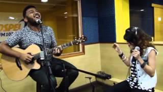 Eli Soares & Mariah Gomes no Acústico Gospel FM