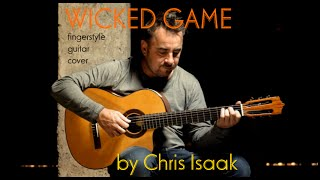 WICKED GAME - Chris Isaak - fingerstyle guitar cover by soYmartino