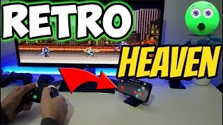 🔴PLAY RETRO GAMES ON FIRESTICK & ANDROID DEVICES 2 PLAYER AND USE PHONE AS CONTROLLER 2019