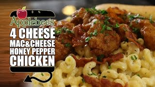 HOW TO MAKE Applebees Four Cheese Mac & Honey Pepper Chicken width=