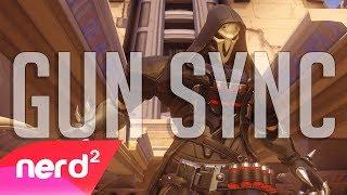 """The Reaper"" Overwatch Gun Sync [by TheBlackGamer] #NerdOut"""