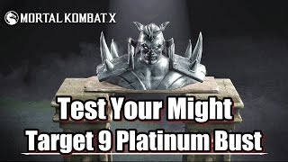 Mortal Kombat X Platinum Bust - Test Your Might - Traditional Towers