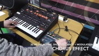 Stomping on Synths: KORG SDD-3000 + ARP Odyssey