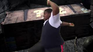 fat black guy dancing to the magic box sound effect off cod zombies