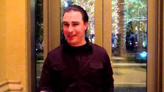 Joe Fortenbaugh w/RJ at Venetian in Vegas