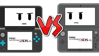 New 2DS XL vs New 3DS XL