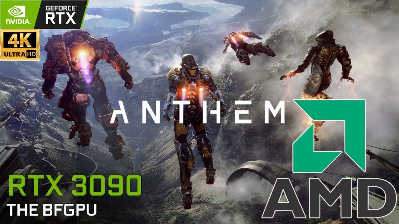 XenthorX - ANTHEM : 4K Live in 2021   AMD 5900X   RTX 3090   4K