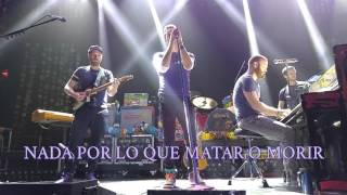 Coldplay 'Imagine' (John Lennon) [Español/LIVE] #PrayForParis