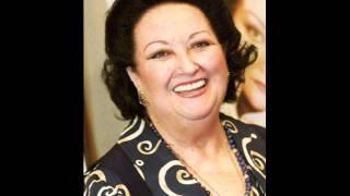 "Montserrat Caballe sings Ravel's ""Habanera"" - LIVE!"