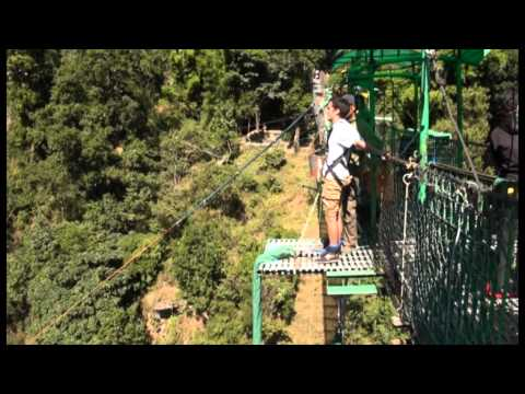 Me at The Last Resort doing the Bungee Jump – Nepal
