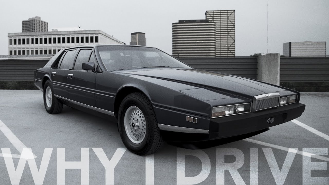 Car designer's 1984 Aston Martin Lagonda is the technological beauty he'll never sell thumbnail