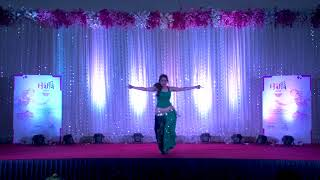 Mere Khwabon Mein | Dilwale Dulhaniya Le Jaayege | Aziza Degwekar | Belly Dance | DanceAtStepz