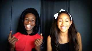 Ariana Grande / Mac Miller The Way cover by Ashley (12) and Dante (14)