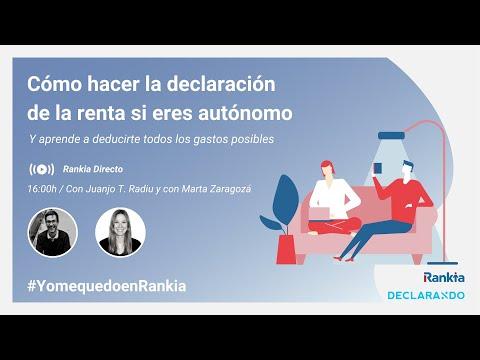 Juanjo T. Radiu y con Marta Zaragozá Cofundadores de la asesoría online Declarando.es nos contaron cómo realizar una declaración de la renta si eres autónomo, con trucos y consejos de cómo ahorrar tiempo y dinero en la fiscalidad de los autónomos.