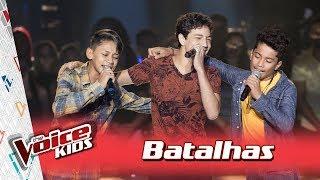 Augusto, Jhony e Matheus cantam 'Fogão de Lenha' nas Batalhas – TVK Brasil | 3ª T