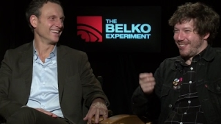 'Belko Experiment' stars try Colombia's aguardiente
