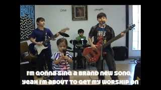 Jamie Grace Beautiful Day (Cover) by 10 and under band