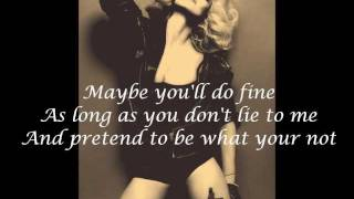 Madonna Ft. Nicki Minaj & M.I.A. - Give Me All Your Luvin' Lyrics On Screen