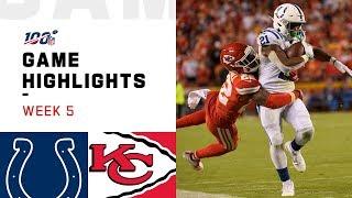 Colts vs. Chiefs Week 5 Highlights   NFL 2019