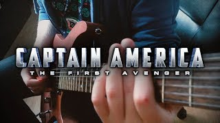 Captain America: The First Avenger Theme on Guitar