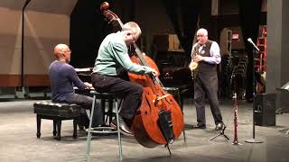Paquito D'Rivera with Darrell Grant and Chuck Israels