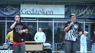 -SaaBUzzA- & Lil' Chrizz - Liebe ohne Reflexion (Live)