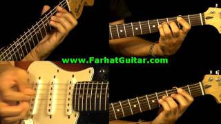 Money Pink Floyd Guitar Cover Part 1  www.farhatguitar.com