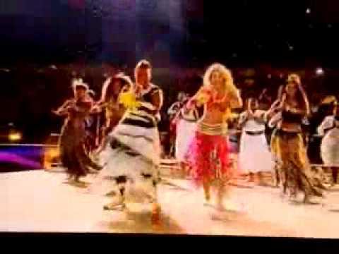 Shakira-Waka Waka (Ending ceremony) Live Performance