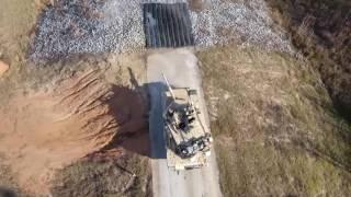 第3步兵師第1裝甲旅實彈射擊訓練