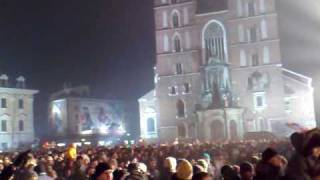 New Year's Eve Krakow - Poles go off to cheesy dance music