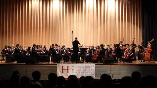 Williamsburg 2015 Glenelg HS Orchestra - Variations on a Shaker Melody - Aaron Copland