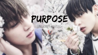 Jungkook & Taehyung- Purpose {3D Mashup}