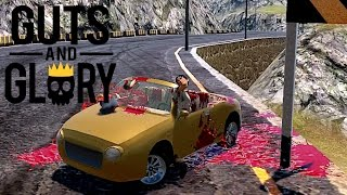 GUTS AND GLORY PC - Survival Drifting Challenge! LOL *GoryCrashes*