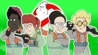 ♪ GHOSTBUSTERS THE MUSICAL - Animated Parody Song