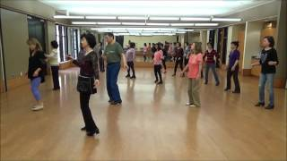 Let's Turn Back The Years Line Dance (Choreographed by Marie Sorensen)