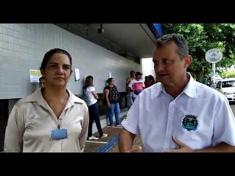 Prefeito Pedro Coelho acompanha fiscalização de filas nos bancos