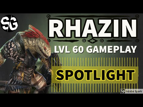[RAID SHADOW LEGENDS] LVL 60 RHAZIN SPOTLIGHT / REVIEW