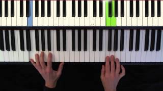 Pachelbel, Canon in D, piano, in C