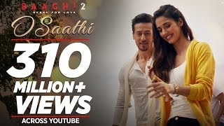 O Saathi Video Song | Baaghi 2 | Tiger Shroff | Disha Patani | Arko | Ahmed Khan | Sajid Nadiadwala width=
