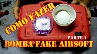 Como fazer uma BOMBA RELOGIO FAKE para Airsoft / Paintball - Parte 1