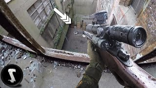 Factory Assault Sniper Mission - OVERPOWERED Airsoft L96