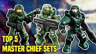 Los 5 Mejores sets de Master Chief | Halo Mega Bloks