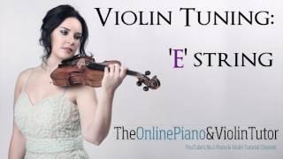 Violin Tuning Note Sound: E STRING