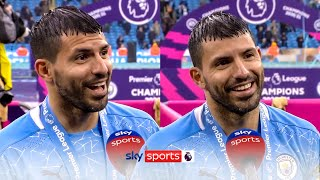 Sergio Aguero reflects on his incredible Man City career after his final game for the club