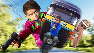 छोटू किलर और रिक्शा वाला | CHOTU KILLER AUR RIKSHA WALA | Khandesh Hindi Comedy | Chotu Comedy