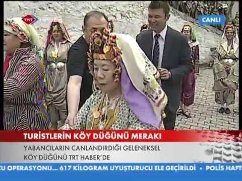 Japon Çift ve Türk Düğünü Soma-Darkale Köyü...