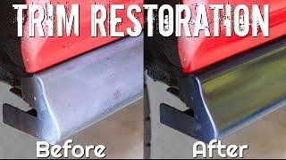 How To RESTORE Plastic Trim - Car Detailing Series
