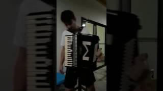 Tocando a musica despacito na sanfona