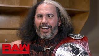 """Woken"" Matt Hardy wishes Bray Wyatt a Happy Birthday: Raw Exclusive, May 23, 2018"